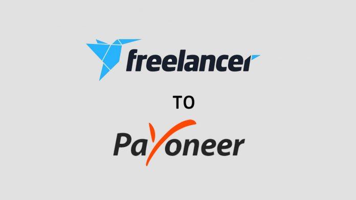 Freelancer to payoneer withdrawl