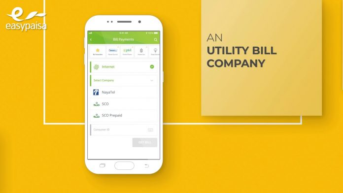 Pay Electricity Bill Via easypaisa