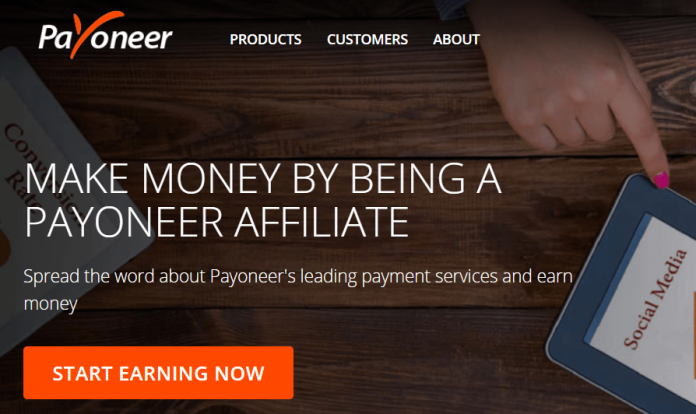 make money with payoneer affiliate program