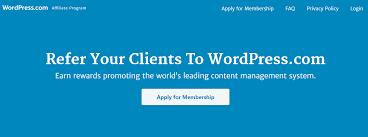 make money with wordpress affiliate program