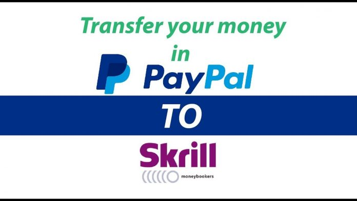 transferring money from paypal to skrill