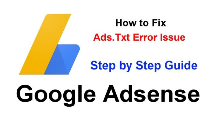 how to fix ads.txt issue on google adsense