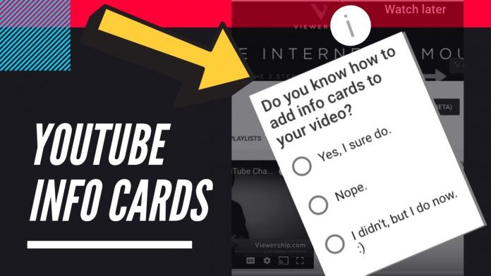 How to Add Info Cards to Your YouTube Video